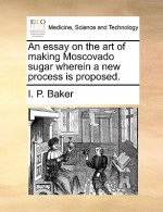 An essay on the art of making Moscovado sugar wherein a new process is proposed.