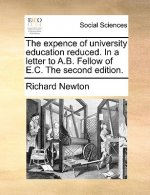 Expence of University Education Reduced. in a Letter to A.B. Fellow of E.C. the Second Edition.