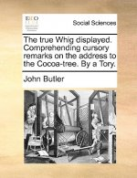 The true Whig displayed. Comprehending cursory remarks on the address to the Cocoa-tree. By a Tory.