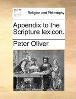 Appendix to the Scripture Lexicon.