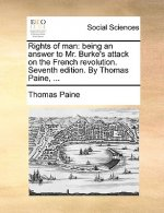Rights of man: being an answer to Mr. Burke's attack on the French revolution. Seventh edition. By Thomas Paine, ...