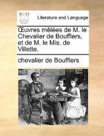 �uvres m�l�es de M. le Chevalier de Boufflers, et de M. le Mis. de Villette.