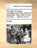 Iliad of Homer. Translated from the Greek by Alexander Pope, Esq. in Two Volumes. ... Volume 2 of 2