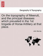 On the Topography of Meerutt, and the Principal Diseases Which Prevailed in the 1st Brigade of Horse Artillery at That Place.