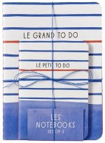 Paris Street Style: Les Notebooks (Set of 3)