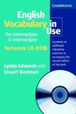 English Vocabulary in Use Pre-Intermediate and Intermediate Network CD ROM