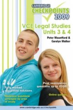 Cambridge Checkpoints VCE Legal Studies Units 3 and 4 2009