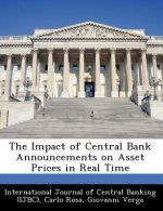 Impact of Central Bank Announcements on Asset Prices in Real Time
