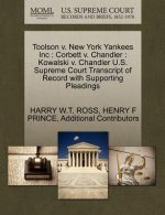 Toolson V. New York Yankees Inc