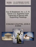 Dun & Bradstreet, Inc. V. C. R. Grove U.S. Supreme Court Transcript of Record with Supporting Pleadings