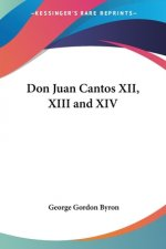 Don Juan Cantos XII, XIII And XIV