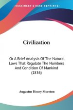 Civilization: Or A Brief Analysis Of The Natural Laws That Regulate The Numbers And Condition Of Mankind (1836)