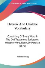 Hebrew And Chaldee Vocabulary: Consisting Of Every Word In The Old Testament Scriptures, Whether Verb, Noun, Or Particle (1871)