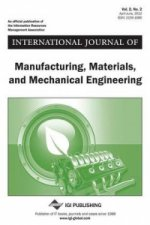 International Journal of Manufacturing, Materials, and Mechanical Engineering, Vol 2 ISS 2
