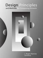 Design Principles and Methods for Composing Artwork