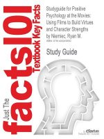 Studyguide for Positive Psychology at the Movies