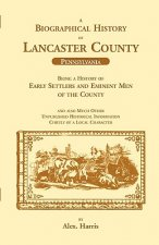 Biographical History of Lancaster County (Pennsylvania)
