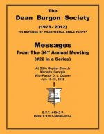 Dean Burgon Society Message Book 2012