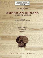 Handbook of American Indians North of Mexico V. 1/4