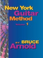 New York Guitar Method