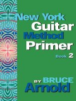 New York Guitar Method Primer