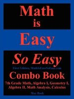 Math Is Easy So Easy, Combo Book
