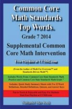 Common Core Math Standards Top Words Grade 7 2014 Supplemental Common Core Math Intervention