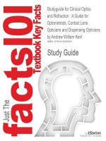 Studyguide for Clinical Optics and Refraction
