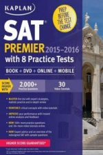 Kaplan SAT Premier 2015-2016 with 8 Practice Tests