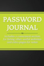 Password Journal (Electric Lime)