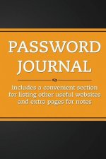 Password Journal (Orange Tang)