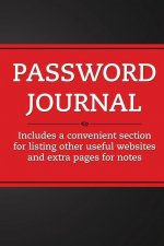 Password Journal (Red Rouge)