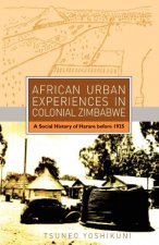 African Urban Experiences in Colonial Zi