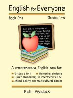 English for Everyone - Book 1