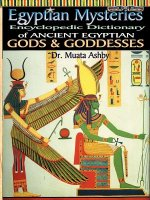 Egyptian Mysteries Vol 2