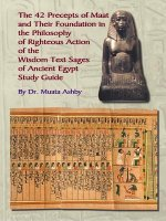 Forty Two Precepts of Maat