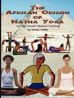 African Origins of Hatha Yoga