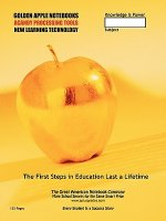 Golden Apple School Notebook