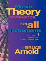 Music Theory Workbook for All Instruments