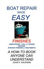 Boat Repair Made Easy: Finishes
