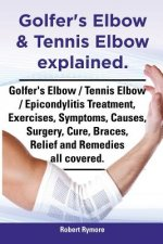 Golfer's Elbow & Tennis Elbow explained. Golfer's Elbow / Tennis Elbow / Epicondylitis Treatment, Exercises, Symptoms, Causes, Surgery, Cure, Braces,