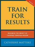Train for Results