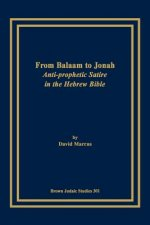 From Balaam to Jonah