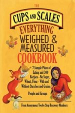 Cups & Scales Everything Weighed & Measured Cookbook -7 Sample Plans of Eating & 300 Recipes - No Sugar,Wheat, Flour - With and Without Starches and G