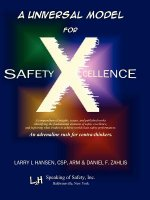 Universal Model for Safety X-Cellence