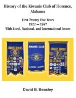 History of the Kiwanis Club of Florence, Alabama - First Twenty-Five Years (1922 - 1947)