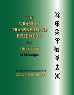 Uranian Transneptune Ephemeris for 1900-2050 at Midnight