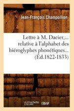 Lettre a M. Dacier, relative a l'alphabet des hieroglyphes phonetiques (Ed.1822-1833)