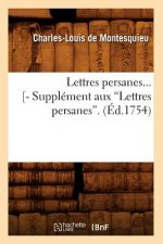 Lettres persanes. Tome 1 (Ed.1754)