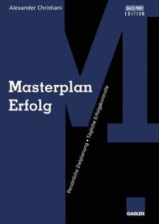 Masterplan Erfolg